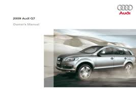 2009 audi q7 u2014 owner u0027s manual u2013 426 pages u2013 pdf