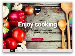 20 awesome food themes to showcase and your