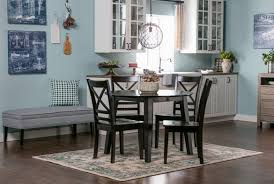 roxy espresso round dining table living spaces
