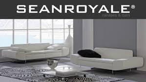 canapé cuir blanc design design blanc cuir