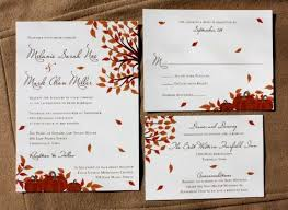 fall wedding invitations picture of stylish and fall wedding invitations