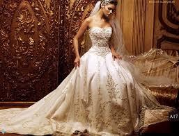 wedding dressing beautiful wedding dress custommade strapless fangle wedding