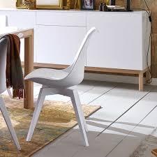 Esszimmer Modern Weiss Moderner Retro Esszimmerstuhl Bevilla In Weiß Wohnen De