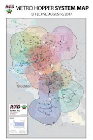 Rtd Map System Map U003e Metro Hopper U003esan Joaquin Regional Transit District