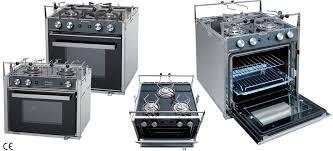cucine piani cottura cucina a gas con piano di cottura in vetro e forno con grill