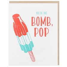 fathers day cards bomb pop s day card s day cards smudge ink