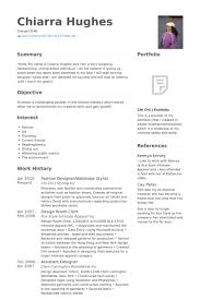 Fashion Resume Templates Fashion Designer Resume Samples Visualcv Resume Samples Database