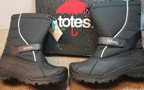 s totes boots size 11 mens totes waterproof winter insulated tornado black boots size 11
