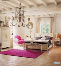 Artistic Chandelier Beautiful Small French Country Rustic Master Bedroom Interior And