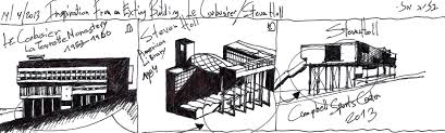 inspiration from an existing building u2026 le corbusier and steven