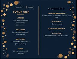 menu design for dinner party holiday dinner menu office templates