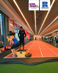 Dynamic Sports Flooring by Neoflex Resilient Flooring For Fitness Brochure By Rephouse Issuu