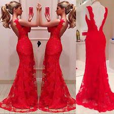 Long Dresses For Cocktail Party - women u0027s lace formal dresses ebay