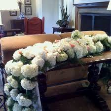 knoxville florists fresh hydrangea runner how pretty is this knoxville wedding
