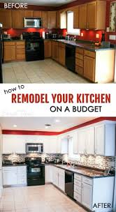 Small Kitchen Before And After Photos by Budget Kitchen Cabinets Cheap Kitchen Remodel Before And After
