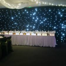 wedding backdrop lights fibre optic starlight backdrop curtain for weddings buy wedding