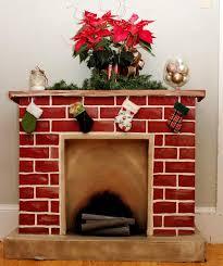 fireplace cardboard home fireplaces firepits decorative