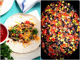 vegetarian slow cooker burritos some the wiser