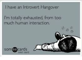 Exhausted Meme - i have an introvert hangover i m totally exhausted from too much
