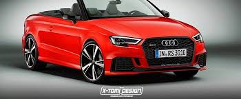 audi rs3 cabriolet 2017 audi rs3 cabriolet would be really heavy and expensive
