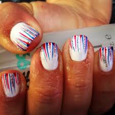 4th of july nails this is cool but how the heck do you do it