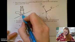 free particle model worksheet 1b youtube