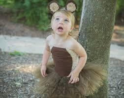 Brown Bear Halloween Costume Baby Bear Costume Etsy
