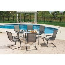 Patio Furniture 7 Piece Dining Set - outdoor expressions water edge 7 piece dining set s16s0800t do