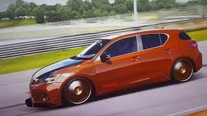 lexus ct200 custom forza 4 lexus ct200h u00272011 336 ps youtube