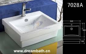 rectangle bathroom sink rectangle bathroom sinks china dreambath