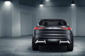 lexus nf x sport infiniti qx sport inspiration u0027s design evolves for european debut