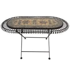 Oval Bistro Table Oval Outdoor Bistro Tables You Ll Wayfair