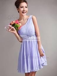 lavender bridesmaids dresses a line one shoulder draped lavender bridesmaid dresses
