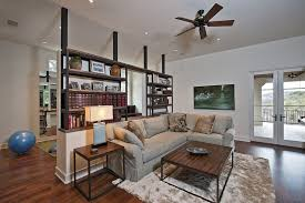 Half Wall Room Divider Design Ideas Bookshelf Room Divider With Half Wall Offers Le