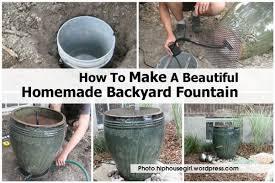 how to make a small garden gardens and landscapings decoration backyard fountain hiphousegirl wordpress com