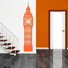 big ben wall sticker ebay big ben london clock vinyl wall art sticker decal room decoration
