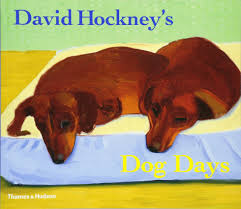 david hockney u0027s dog days david hockney 9780500286272 amazon com