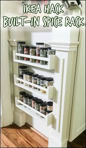 Ikea Spice Rack Hack Diy by 99 Best Kitchen Storage Images On Pinterest Kitchen Storage