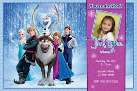 frozen birthday party invitations printable free image collections