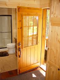 Exterior Pine Doors Rustic Lodge Log And Timber Furniture Handcrafted From Green