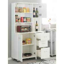 kitchen storage cabinets with doors and shelves basicwise white kitchen pantry storage cabinet with doors