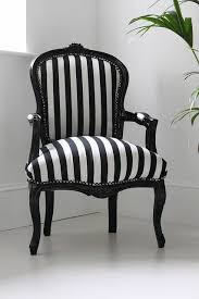 black and white striped accent chair facil furniture regarding