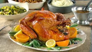 herb turkey recipes thanksgiving citrus and herb turkey recipe martha stewart