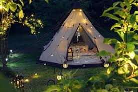 Backyard Campout Ideas We Don U0027t Camp We Glamp Check Out Our Range Of Solar And