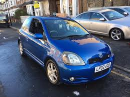 toyota yaris 1 5 vti t sport 2002 3 door long mot clean car good