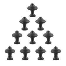 black cast iron kitchen cabinet handles kitchen cabinet knobs set of 10 cast iron 1 diameter cabinetry pulls included renovators supply manufacturing walmart