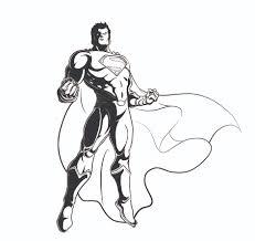 superman outline free download clip art free clip art