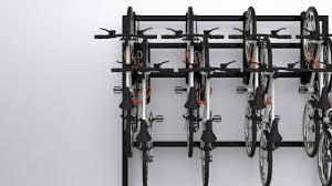 doubleup vertical bike rack youtube