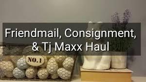 1963 Home Decor Farmhouse Home Decor Haul Consignment Tjmaxx U0026 Friend Mail Youtube