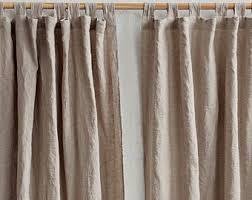 Tab Top Country Curtains Farmhouse Curtain Etsy